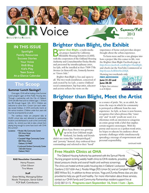 resident newsletter